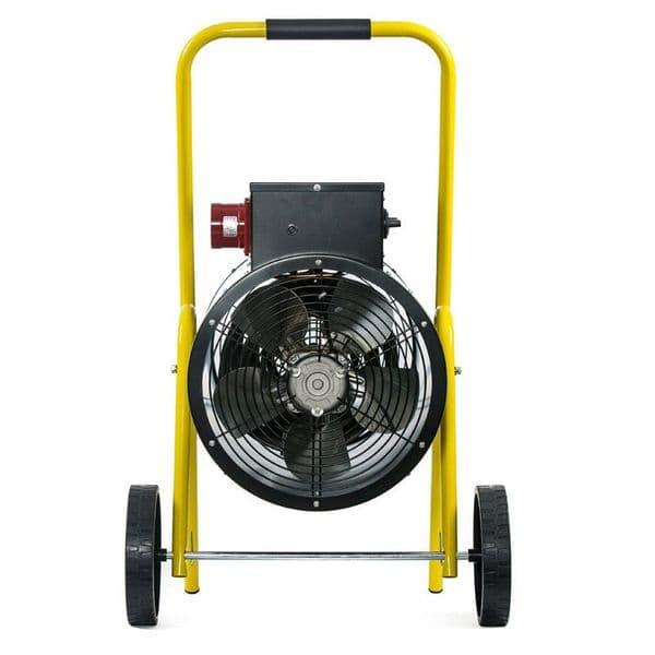 Fully Assembled Olympus JetHeat OLY-J15/3 Electric Fan Heater 15kW/50000Btu 415V~50Hz